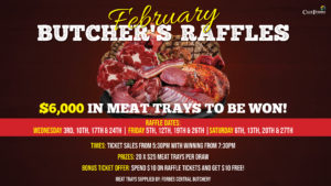 February Butchers Raffles - TV - Forbes Services